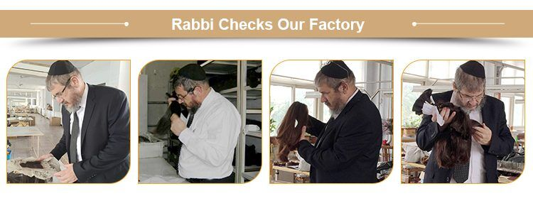 rabbi checks our factory