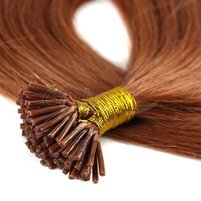 Super Soft Hair Extention Thick Bottom Keratin I Tip hair
