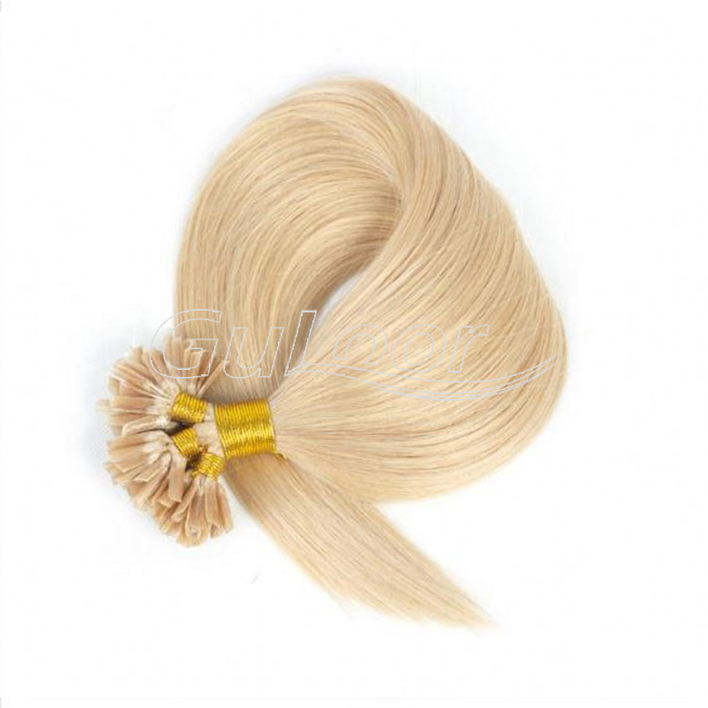 Wholesales top grade remy color u tip hair