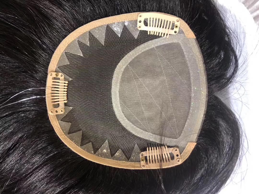 Factory Price Topper 100% virgin Human Hair