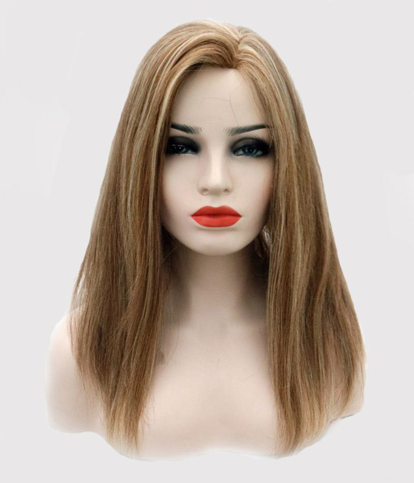 Qingdao Factory 8.5*9 Human Hair Mono Base Topper