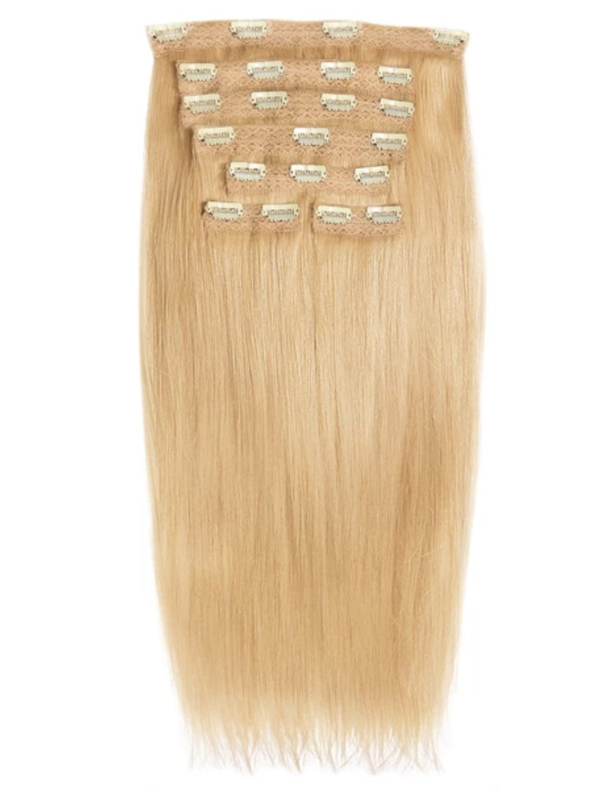 Straight Clip-In Hair Extension Set 7 Pieces