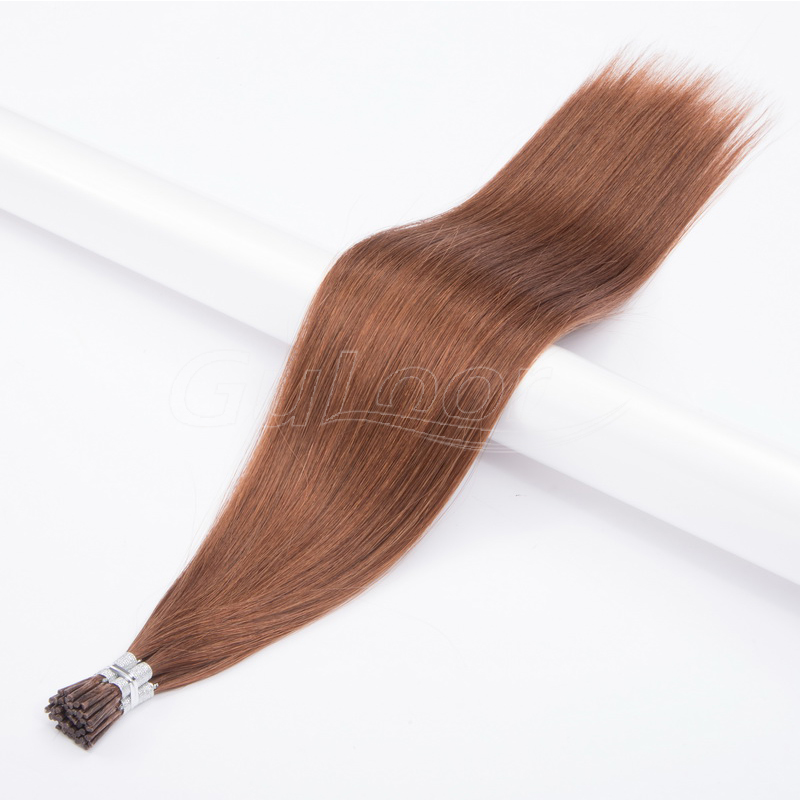 Pre Bonded Remy Human Hair i Tip Raw Virgin Hair Vendor