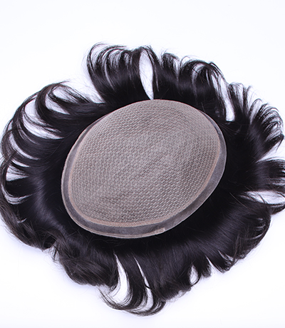Wholesale Virgin Human Hair Lace System Men Toupee