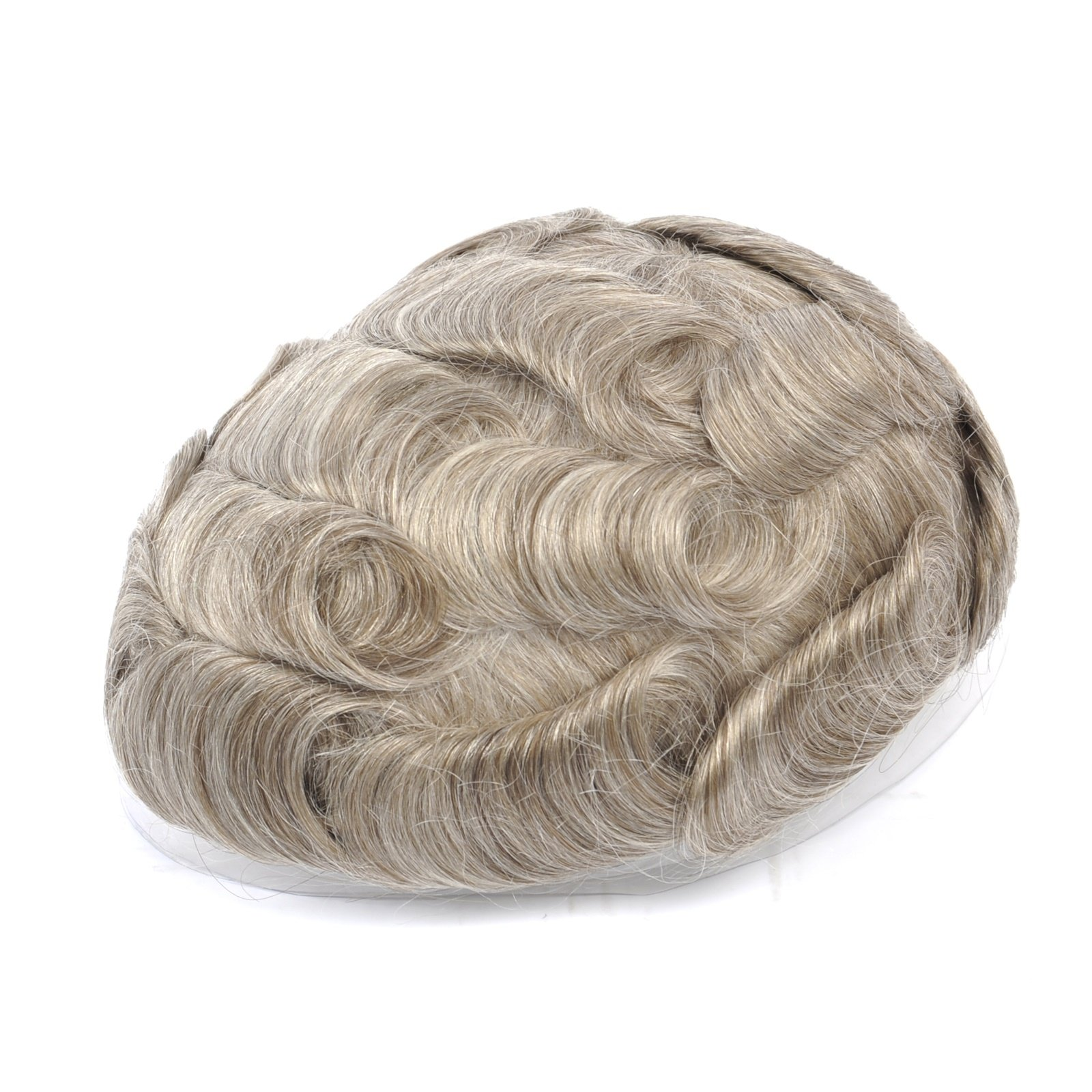 Mens Toupee Hairpiece NG Human Hair Systems 1765#