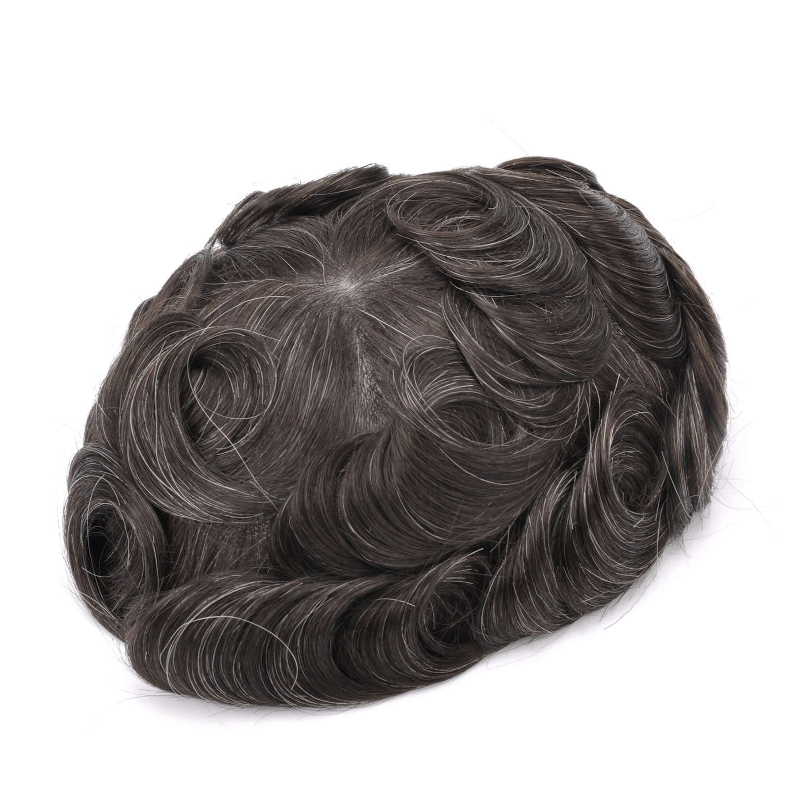 Mens Toupee Hairpiece Apollo Human Hair Systems 310#