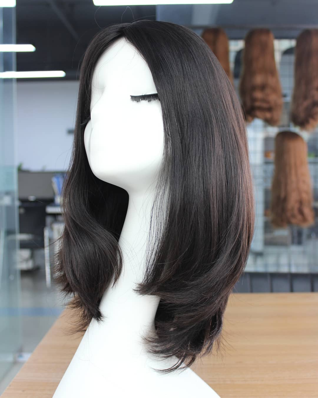 Popular Stock Wigs Brazilian 100% Human Hair Sheitel Jewish Wigs
