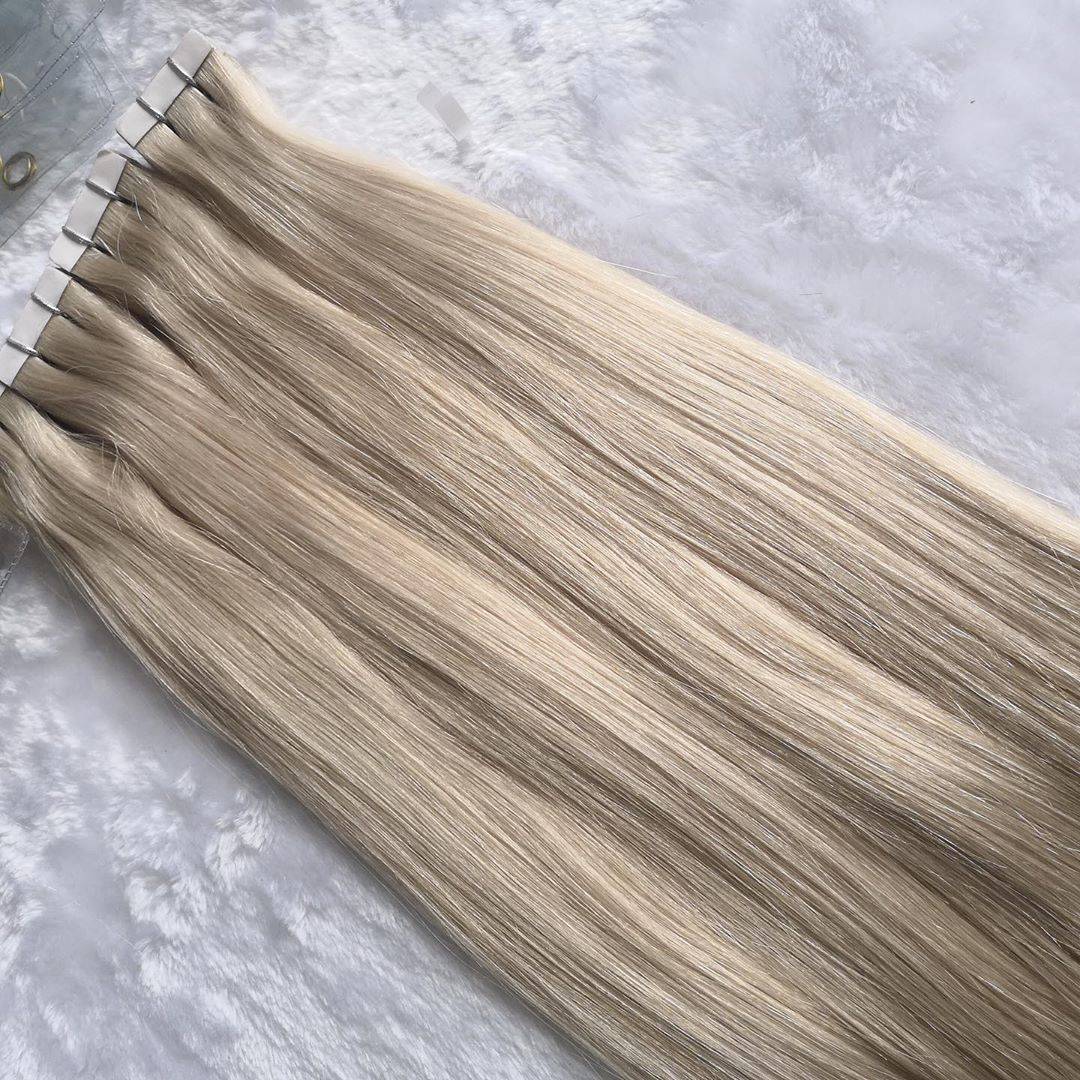 Tape In Hair Extensions Double Drawn European Human Hair Extensions