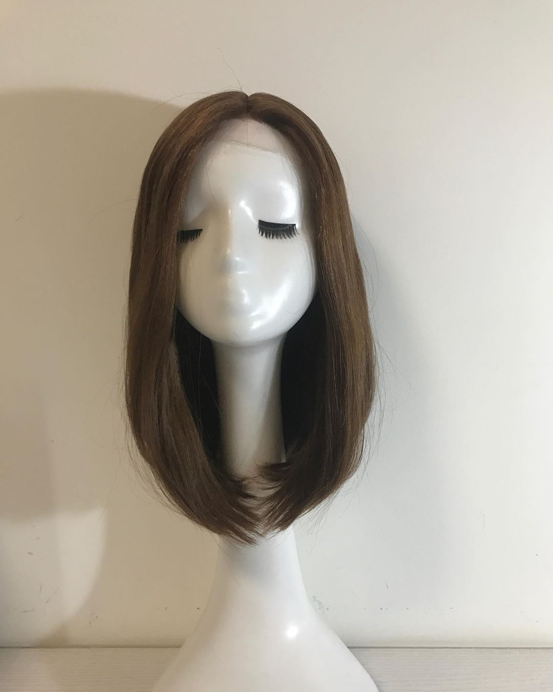Thin Hair 100% Virgin Brazilian Human Hair Jewish Wig In Stock
