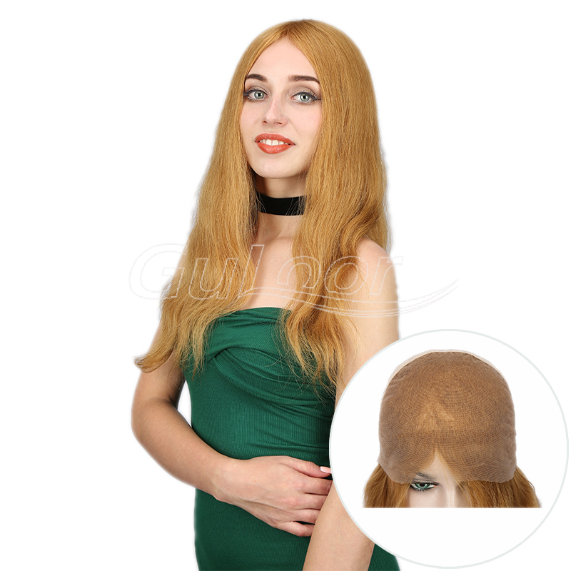 Natural Looking Natural Wave New Arrived Full Human Hair Wig